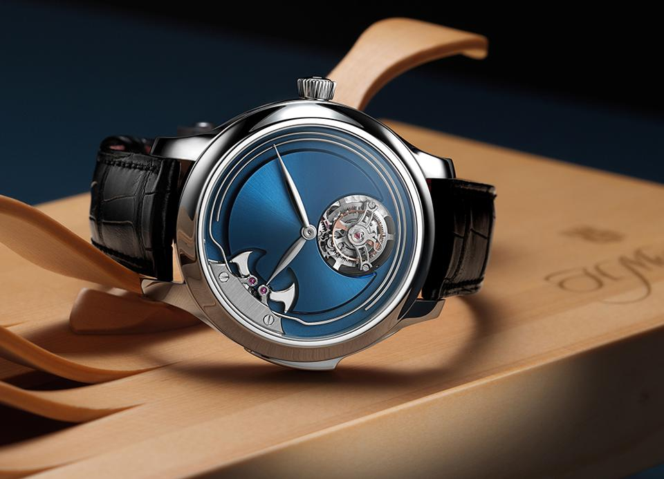 H. Moser's $370,000 Tourbillon Is Also A Minute Repeater And There Are Only 20 Pieces