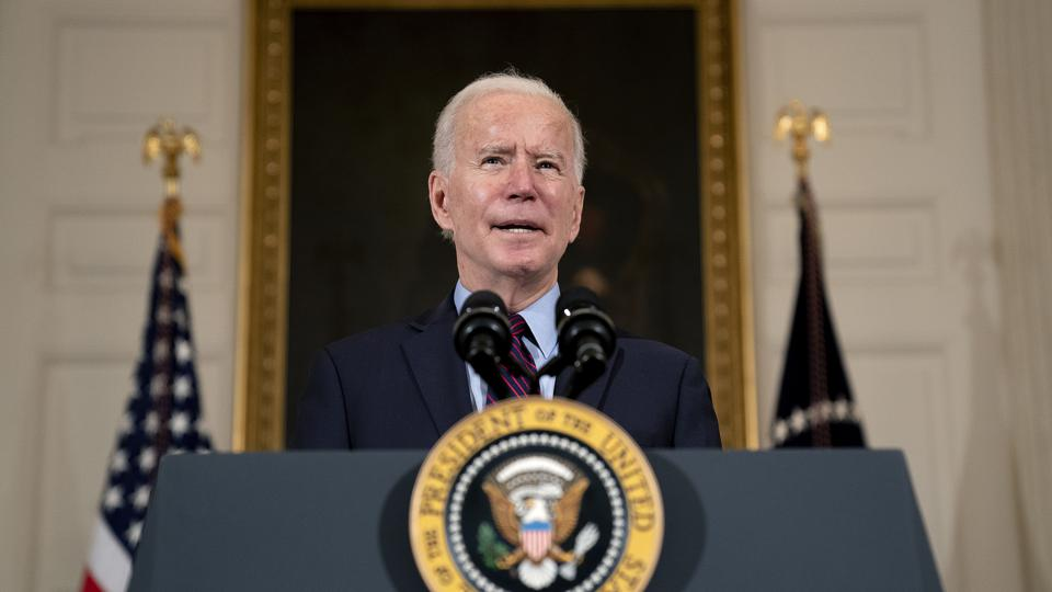 Biden Says U.S. Won't Lift Sanctions Against Iran Until Uranium Enrichment Stops