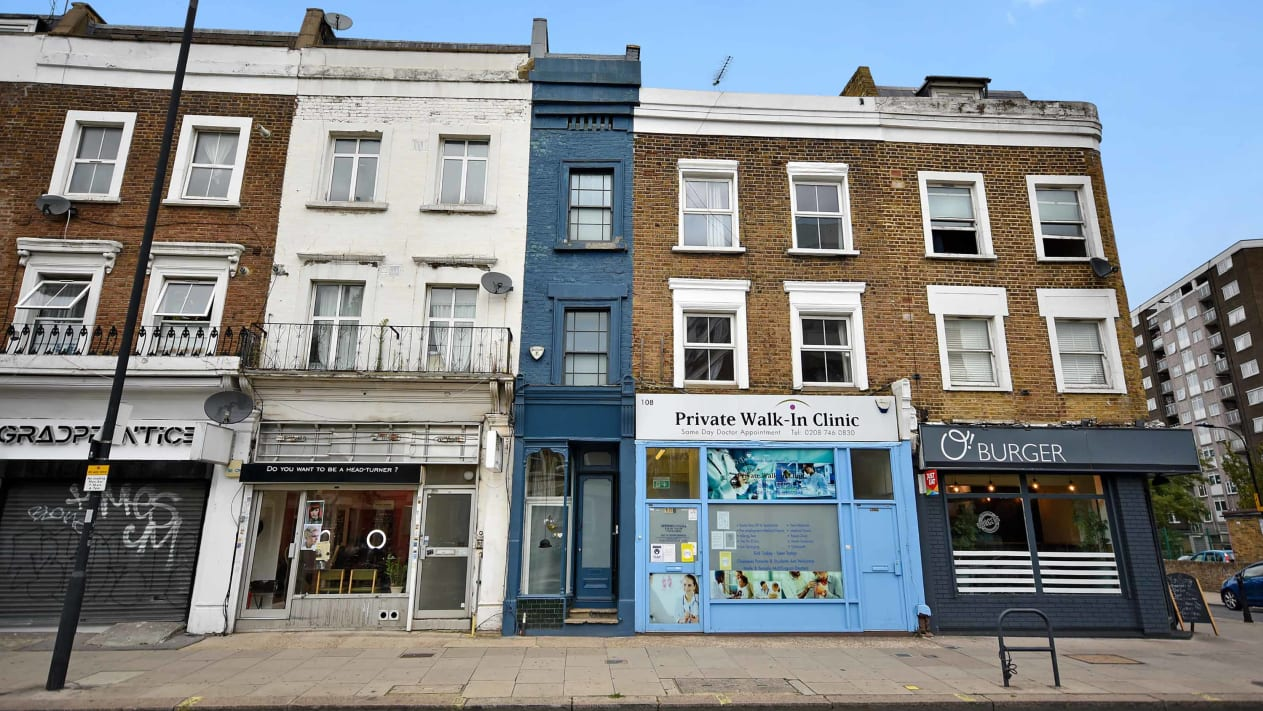 Skinniest House In London Up For Sale for $1.3 Million
