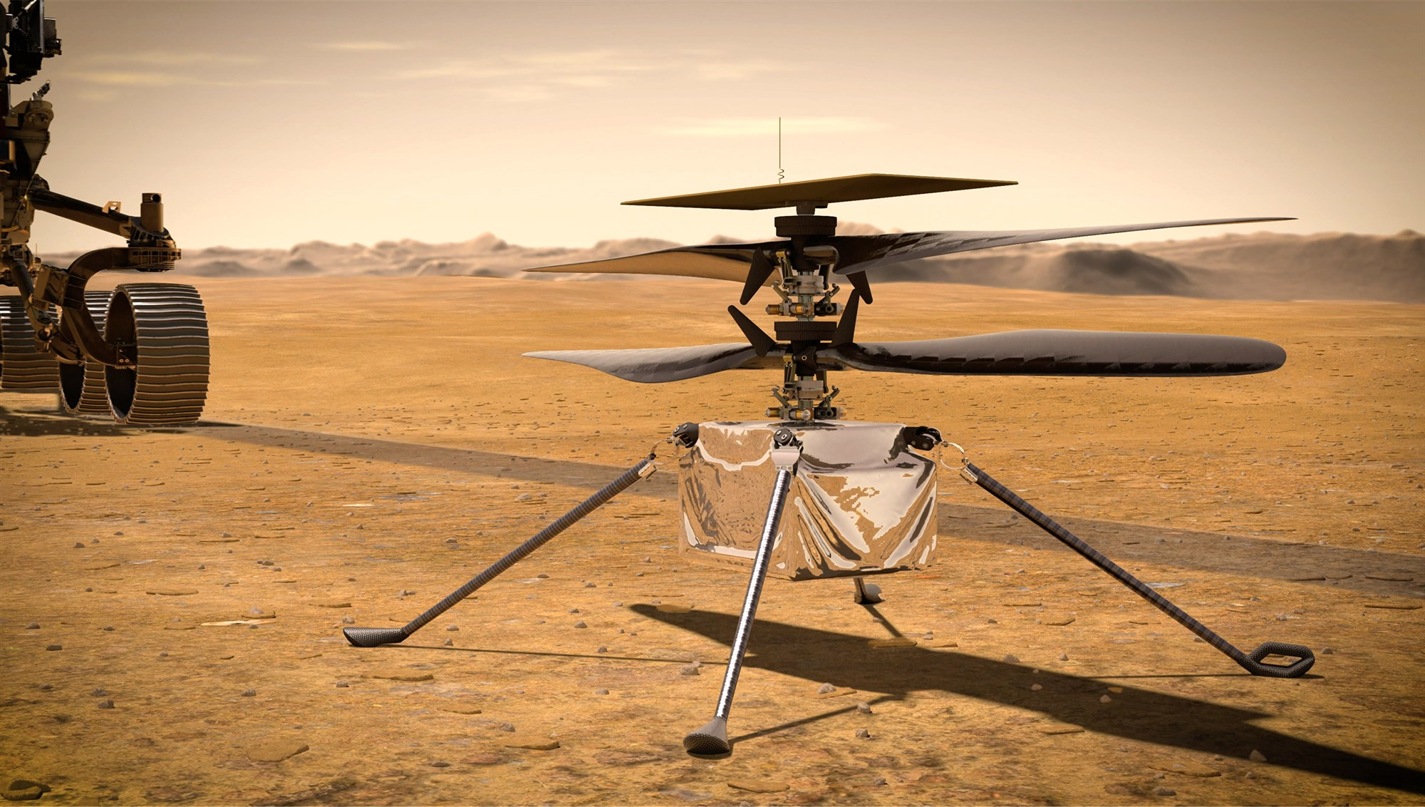 First 'Space helicopter' Set To Take To Martian Skies