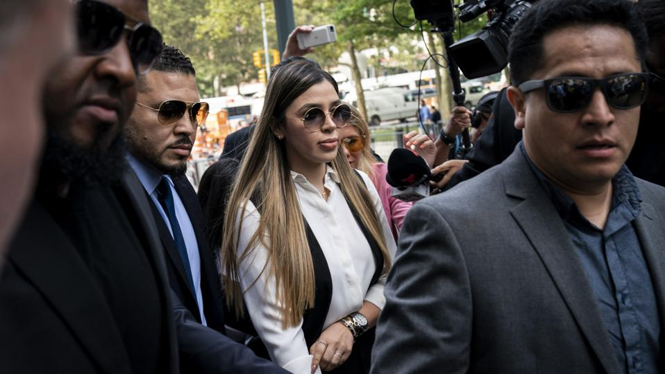 El Chapo's Wife Arrested On Drug Trafficking Charges In U.S.