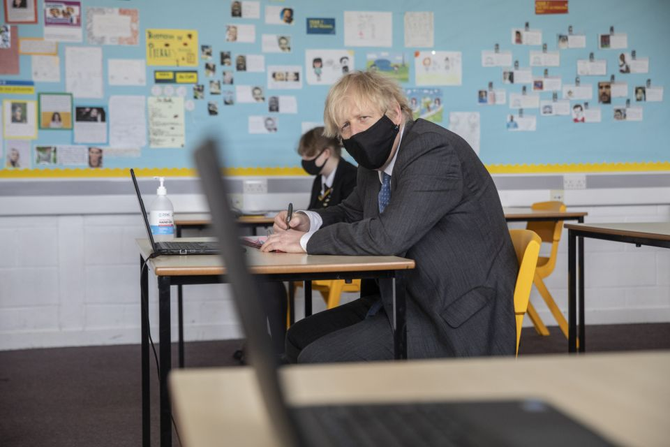 Vaccine Slowdown Could Derail Boris Johnson's Lockdown Plans