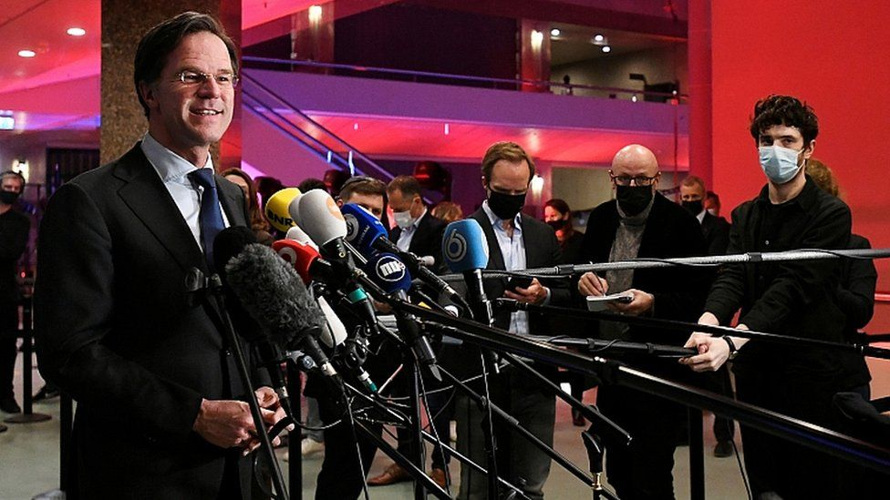 Dutch Election: PM Mark Rutte Claims Victory And Fourth Term