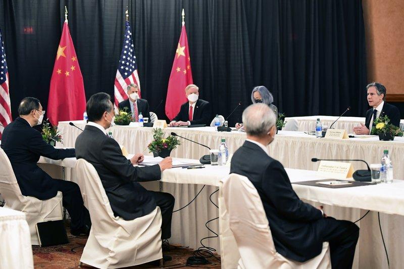 US And China Trade Angry Words At High-Level Alaska Talks