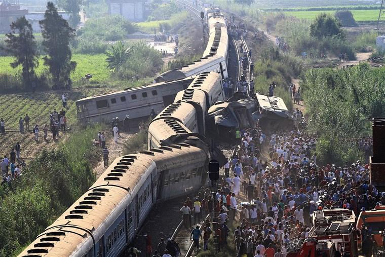 Egypt: Train Collision Kills 32 After Emergency Brake Triggered