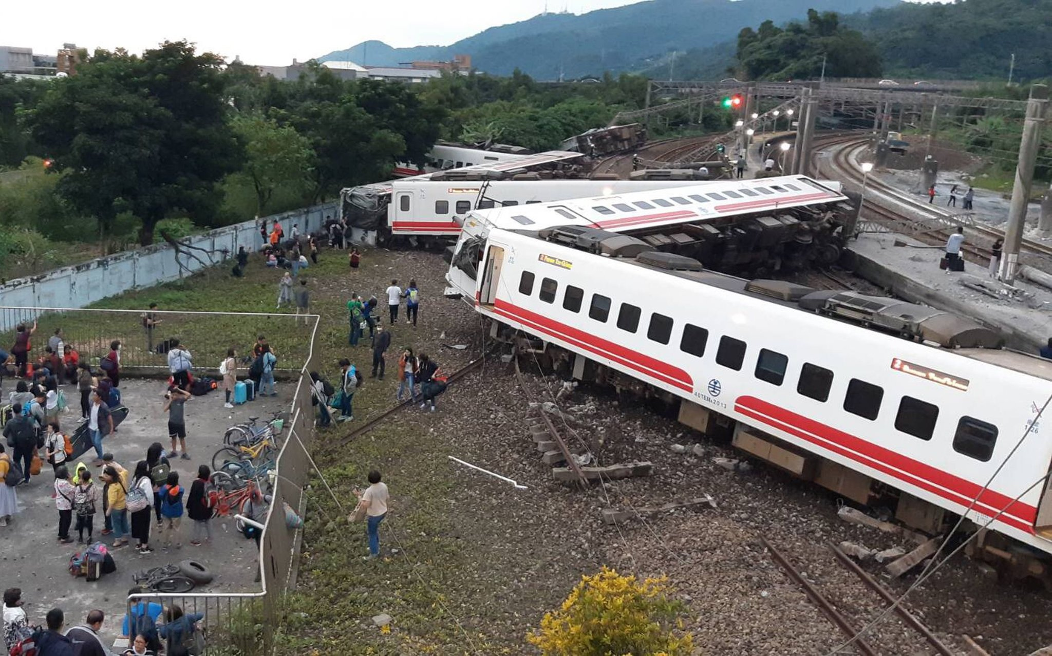 At Least 48 Dead And Nearly 120 Injured In Taiwan's Deadliest-Ever Train Crash