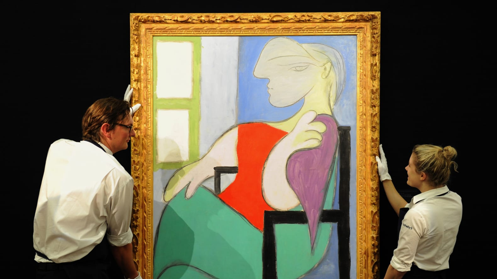 Picasso's Portrait Of A Young Lover To Sell For $55 Million At Auction