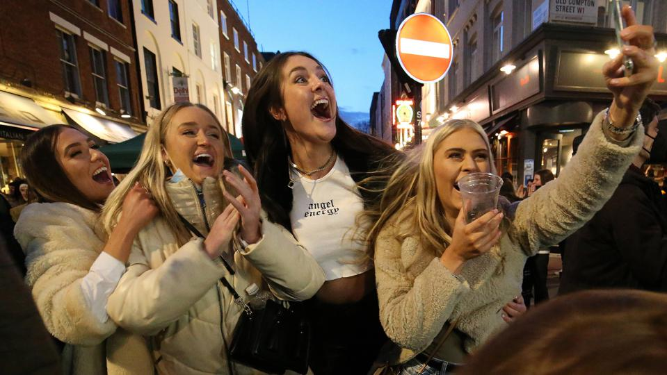 Joy At Pubs, Restaurants And Theme Parks As England Eases Lockdown (Photos)