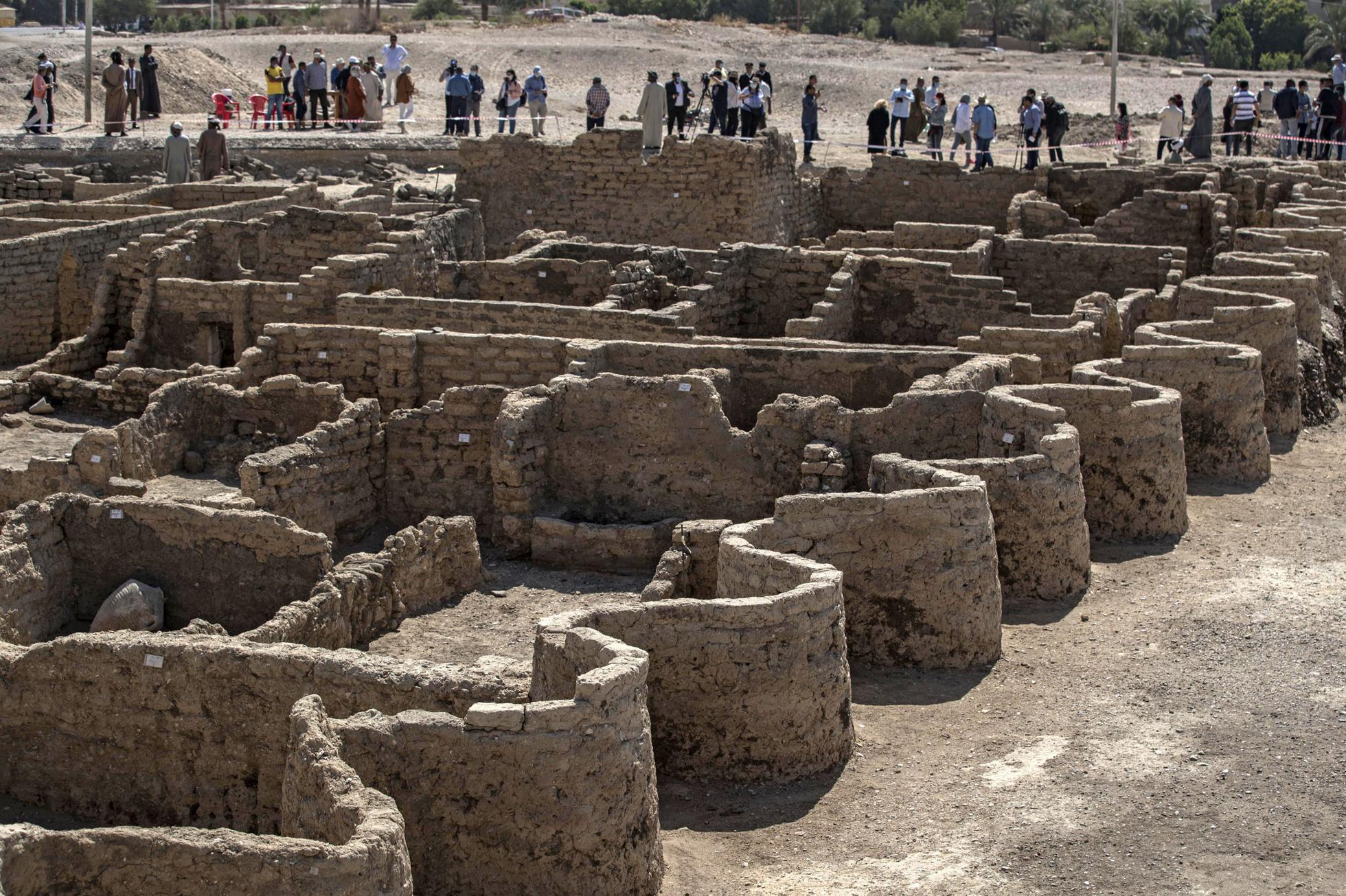 Egypt's 3,400-Year-Old 'Lost Golden City' Is Unearthed From Desert Sands