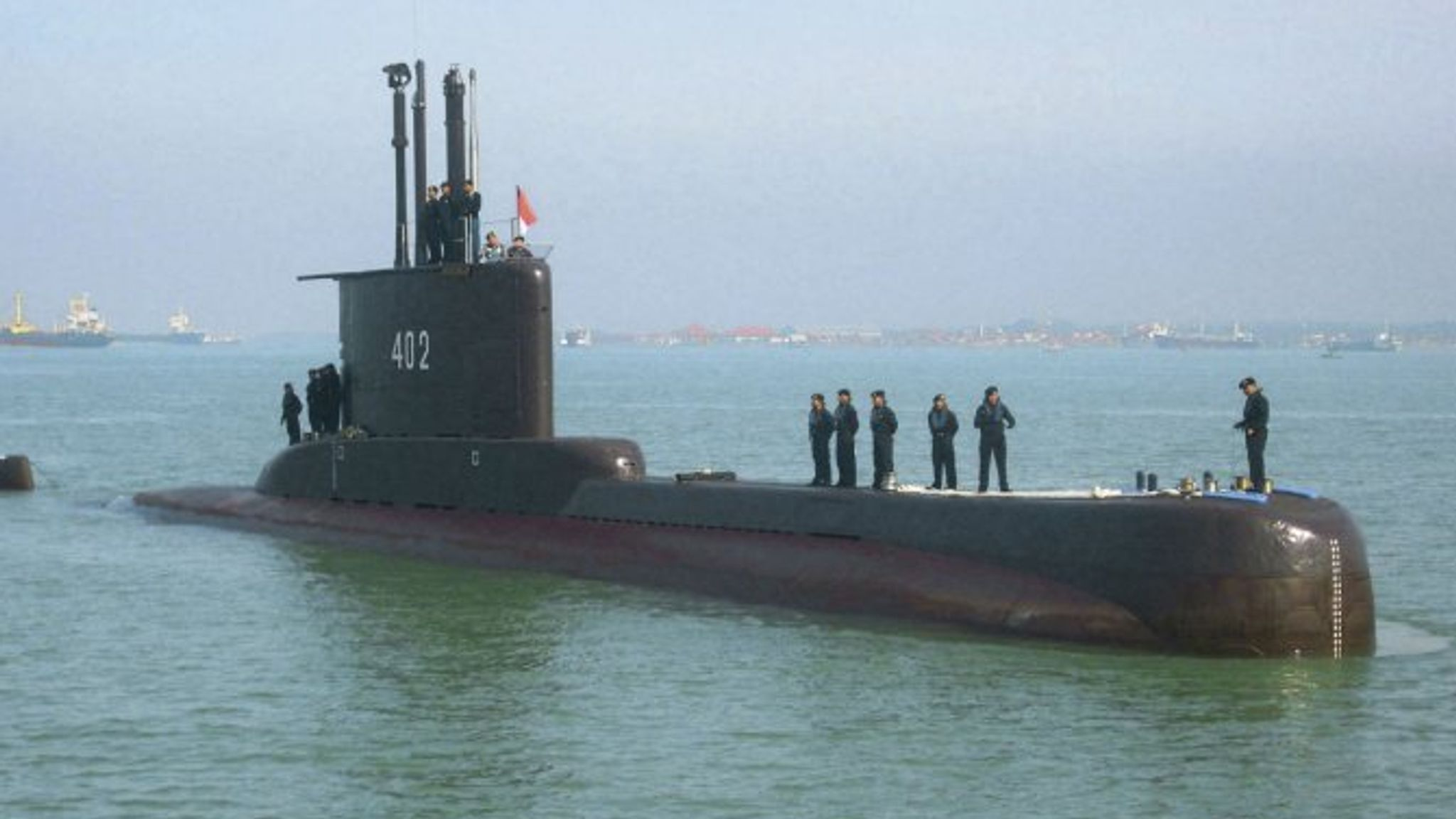Indonesian Navy Submarine With 53 On Board Goes Missing Off Coast Of Bali