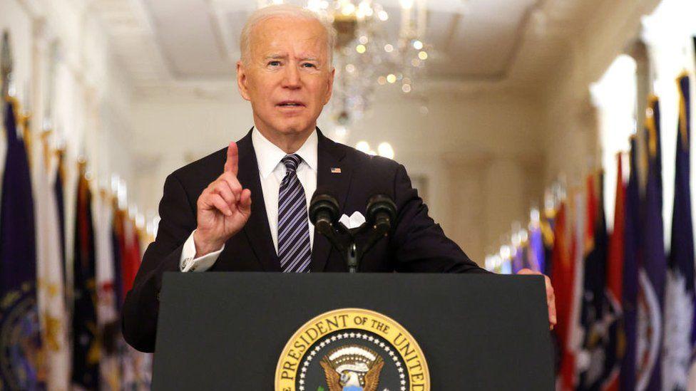 Biden To Sell Historic Spending Plans In Speech To Congress