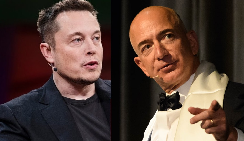 Jeff Bezos And Elon Musk Extend Fight To Space