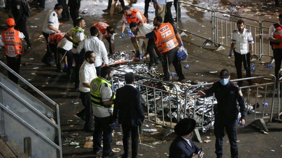 44 People Die In Isreali Celebrations