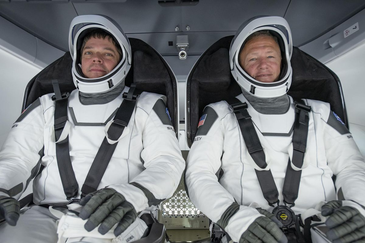 SpaceX Flies Astronauts Home, Capping First Regular NASA Mission