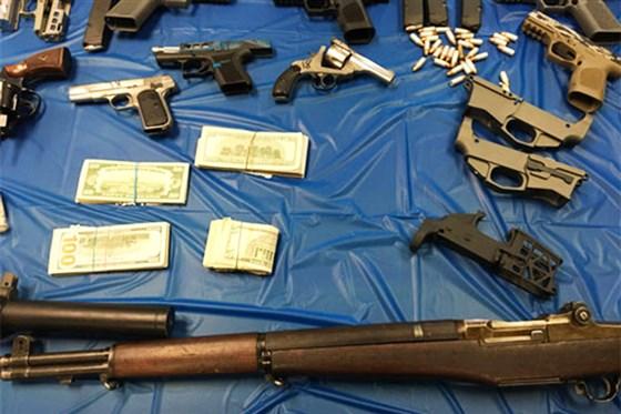 Ghost Guns, Nazi Paraphernalia, Nearly $1 Million Of Meth Seized In Pennsylvania Raid
