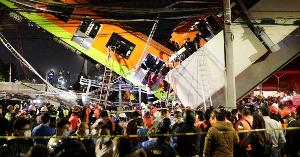 Mexico City Subway Overpass Collapses, Killing 20 And Injuring Dozens