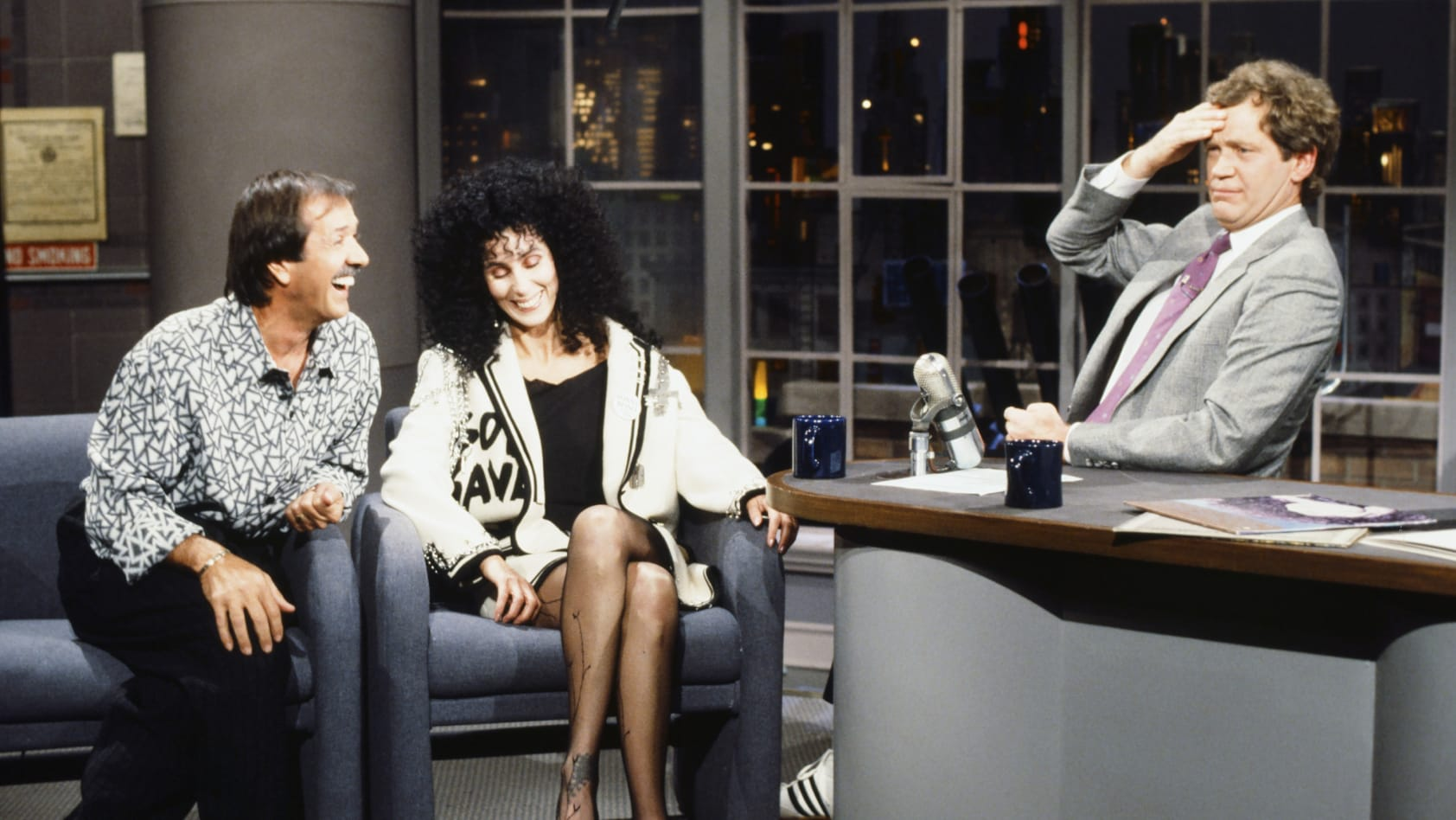 How The Desk In American Late Night Talk Show Set Became An American Icon