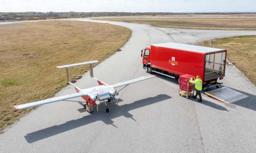Royal Mail To Trial Drones To Deliver Items From Mainland UK To Isles Of Scilly