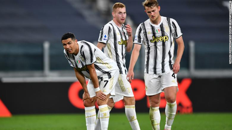 Cristiano Ronaldo And Juventus Facing A Season Without Champions League Football