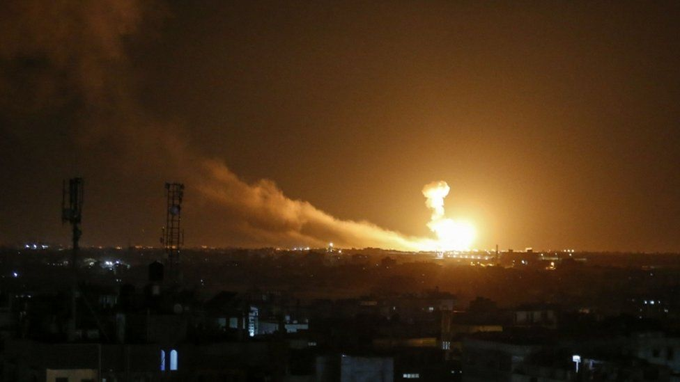 Hamas Says It Has Fired Rockets At Jerusalem In Retaliation For Israeli 'Aggression'