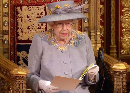 Queen Of England Carries Out First Major Engagement Since Death Of Husband Philip