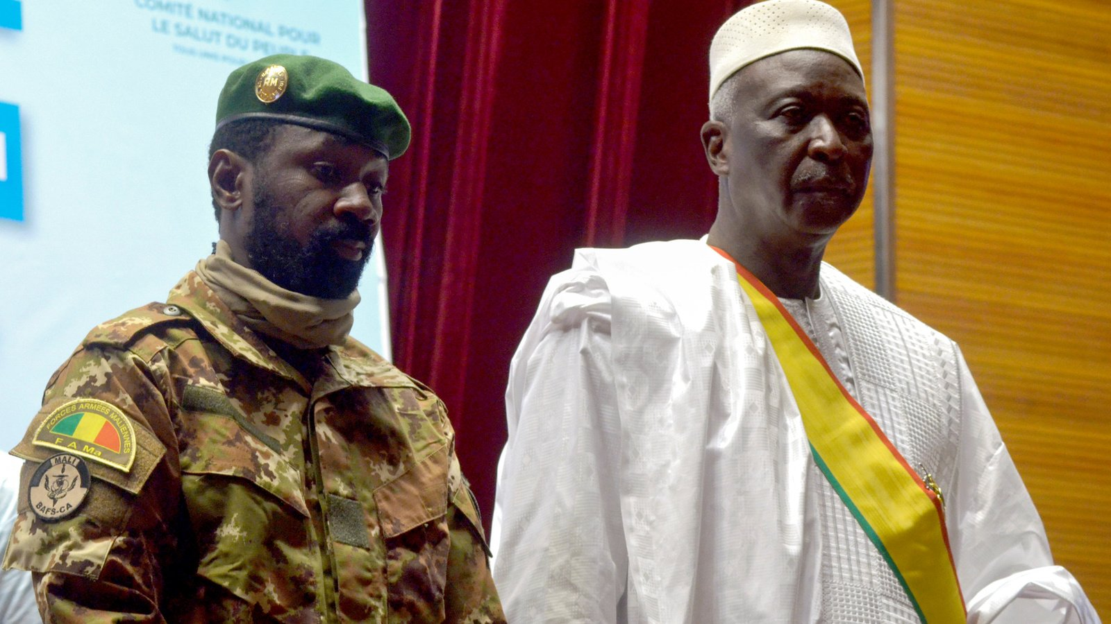 Mali Vice President Confirms Take Over, Fires Detained President
