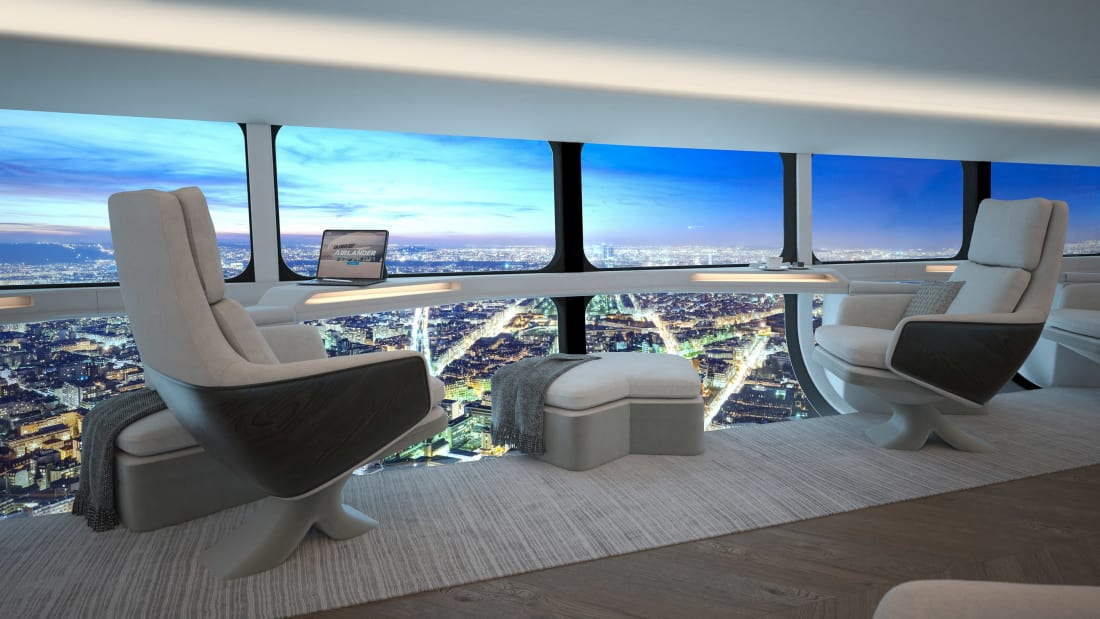 Airship To Offer Low-Carbon Flights With Floor-To-Ceiling Windows