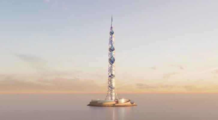 Architects Plan World's Second-Tallest Tower In Russia