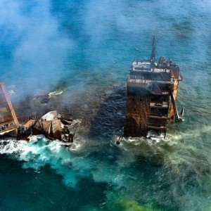 fears-of-environmental-disaster-as-oil-laden-ship-sinks-off-sri-lanka