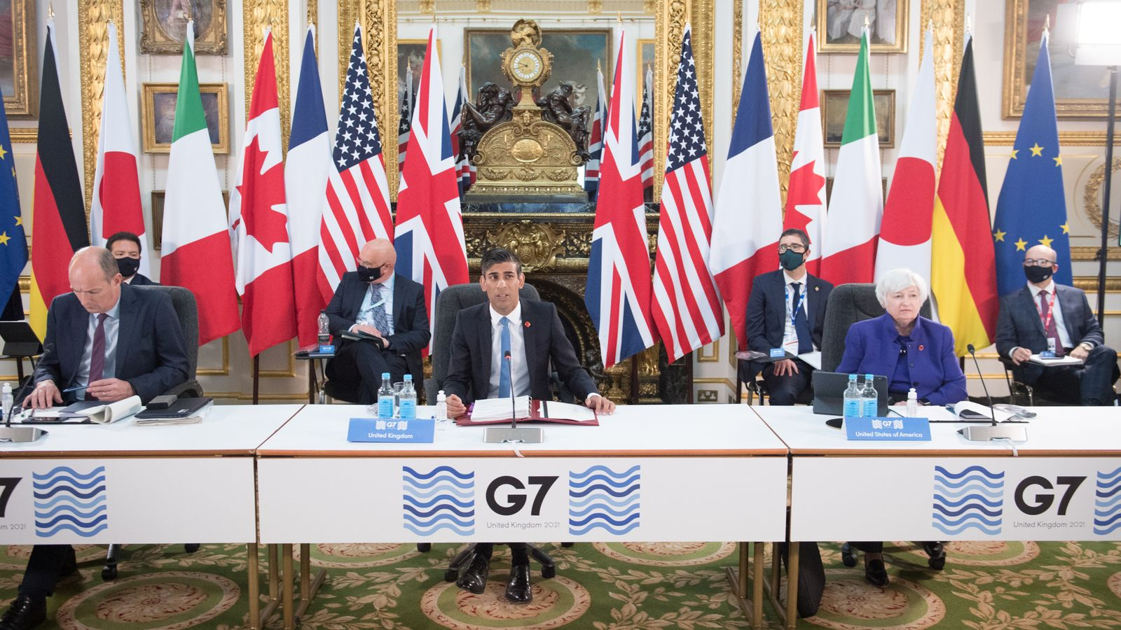 G7 Nations Close To Historic Deal To Tax Tech Giants In Plan That Would 'Change The World'