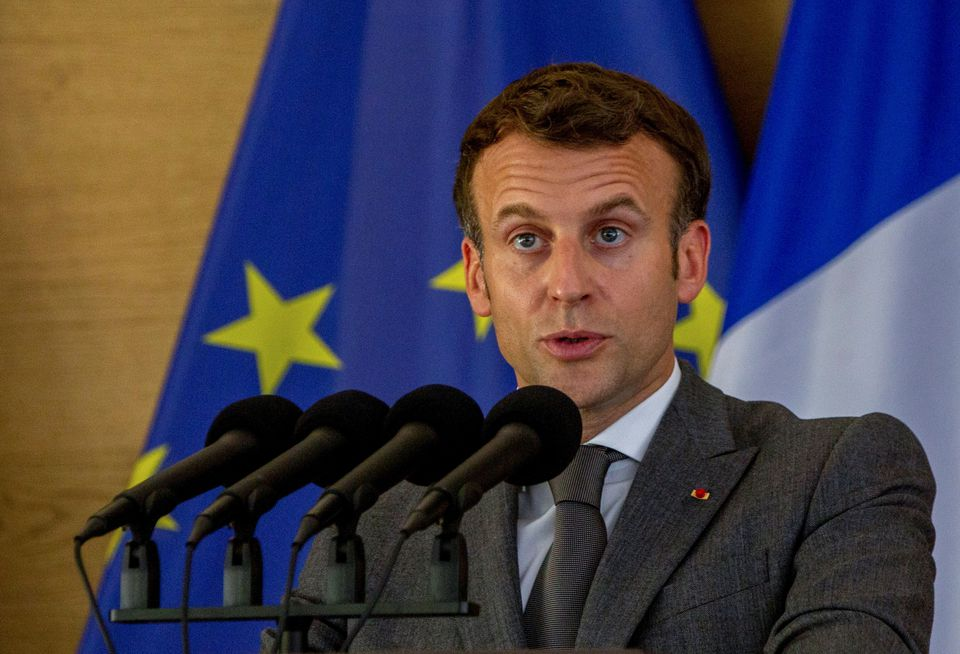 France's Macron Slapped In Face During Walkabout