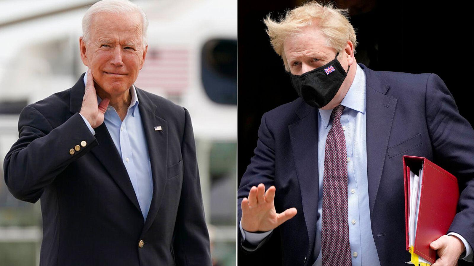Boris Johnson And Joe Biden Set To Agree 'New Atlantic Charter' Ahead Of G7 Meeting