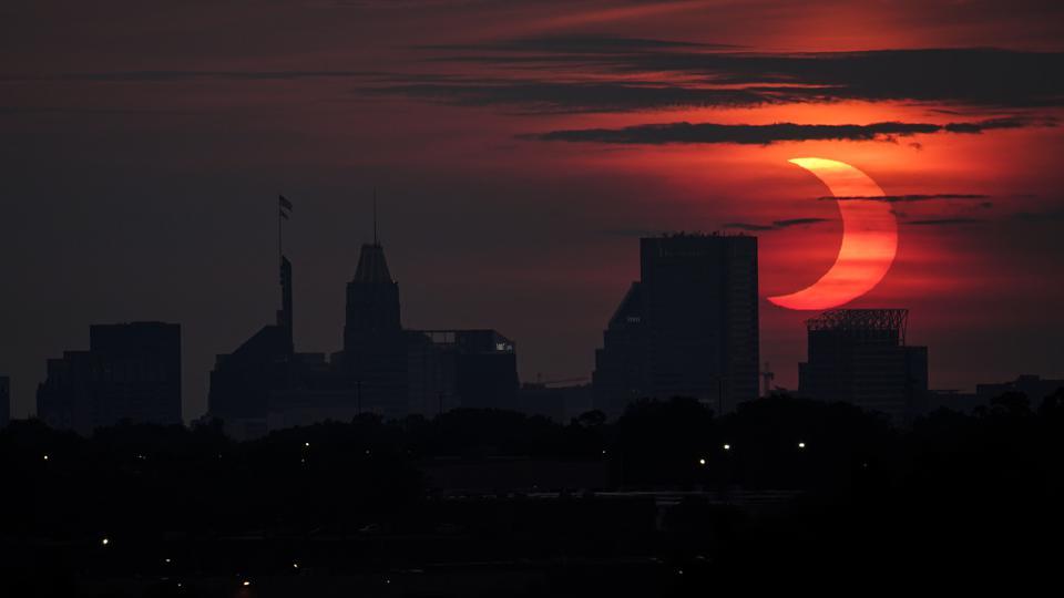 Ring Of Fire: Rare Sunrise Eclipse Sweeps Northeastern U.S.