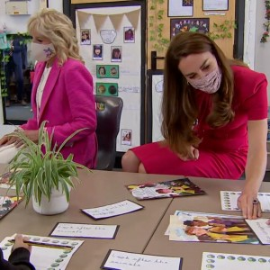 first-lady-jill-biden-and-the-duchess-of-cambridge-visit-classroom-in-cornwall