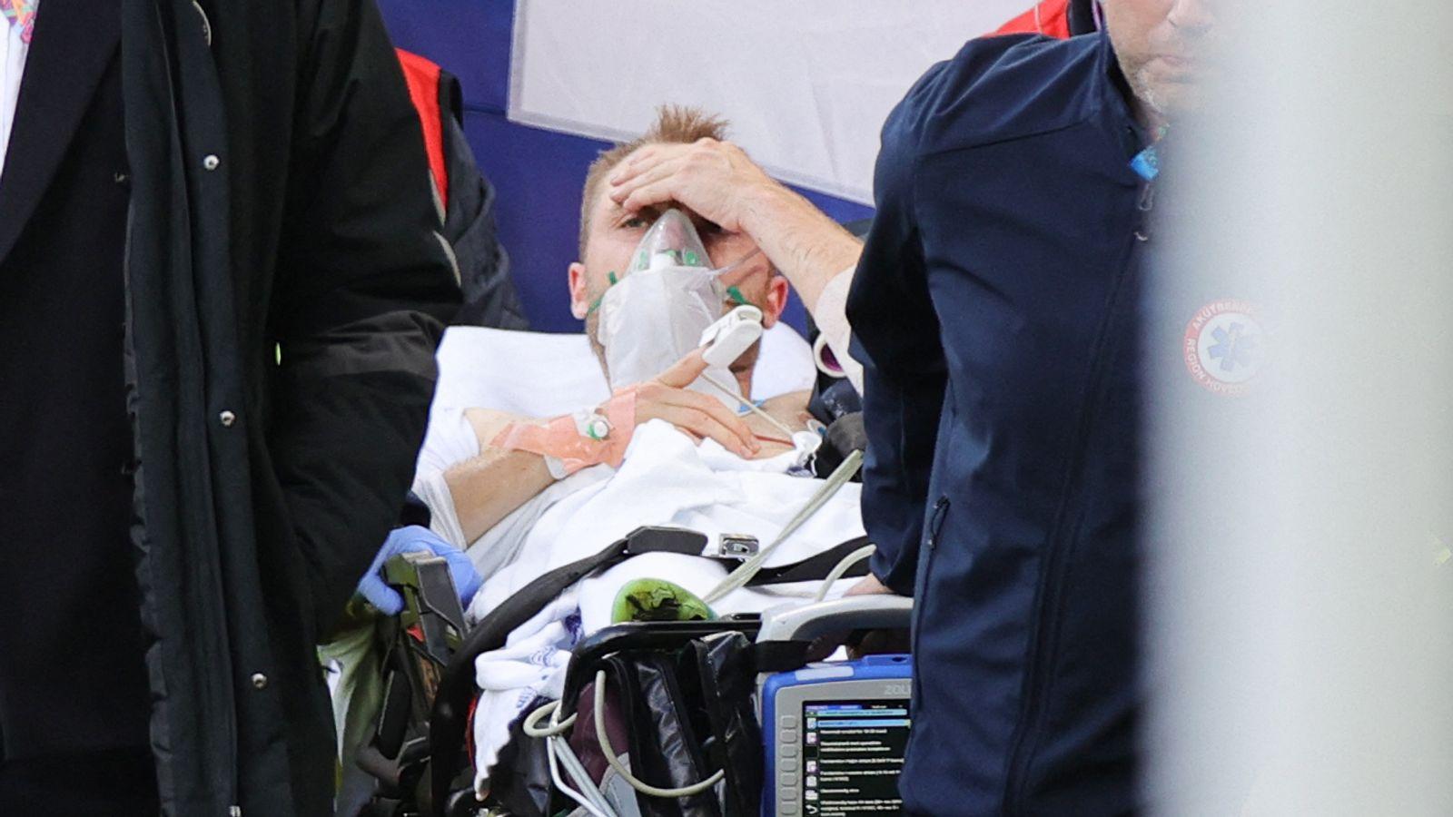 Denmark Captain Simon Kjaer Hailed A Hero For 'Life-Saving' Response To Christian Eriksen Collapse