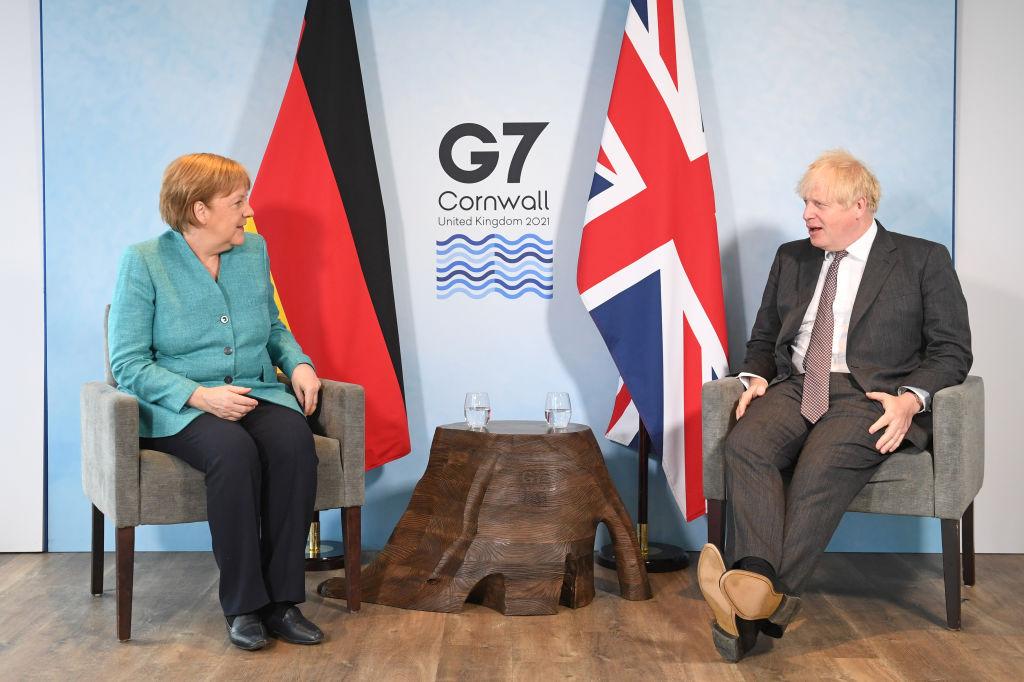 G7: Boris Johnson Gives Press Conference As Summit Closes