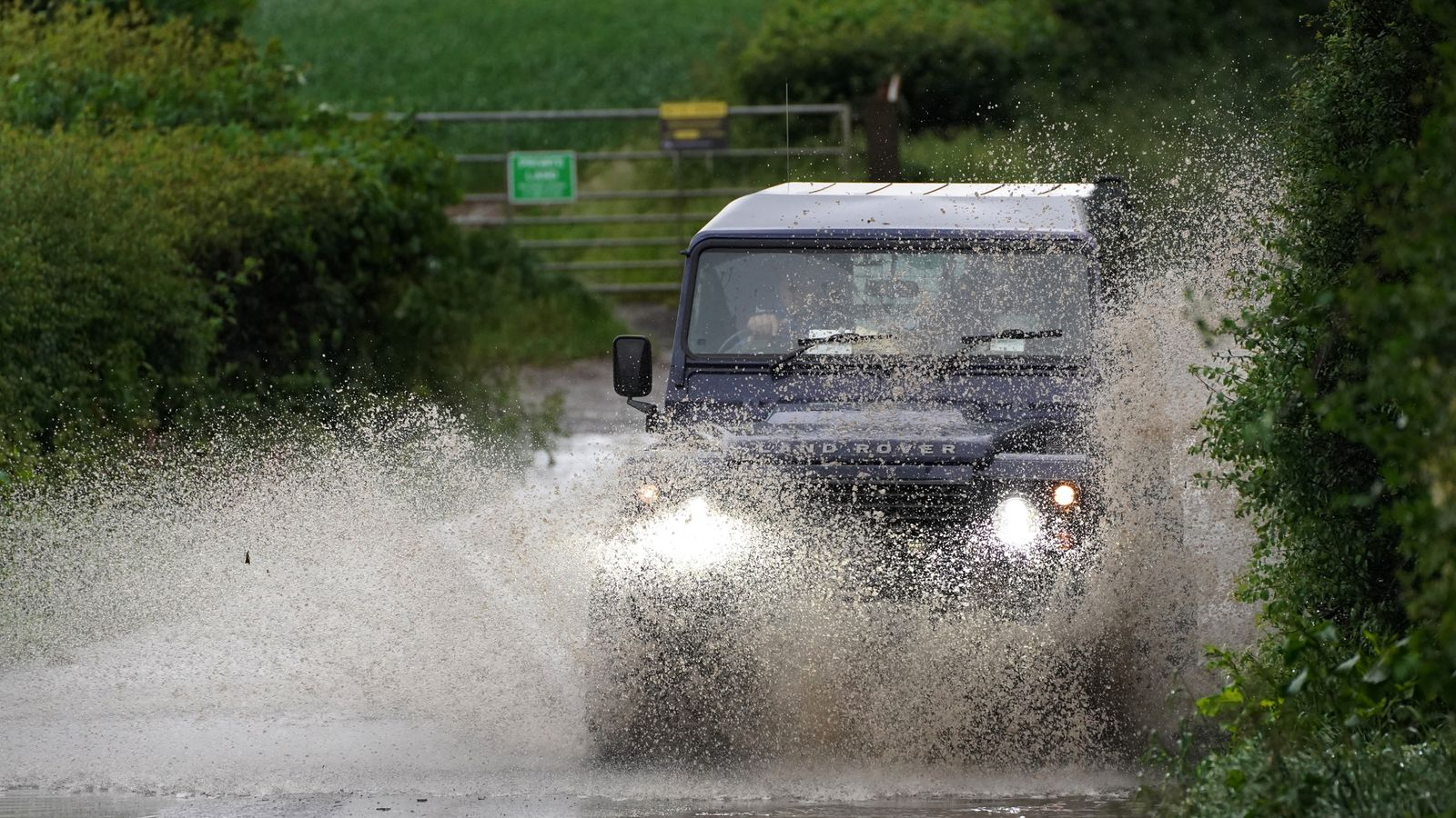 UK Weather: Parts Of England Have Seen A Month's Rainfall In A Single Day