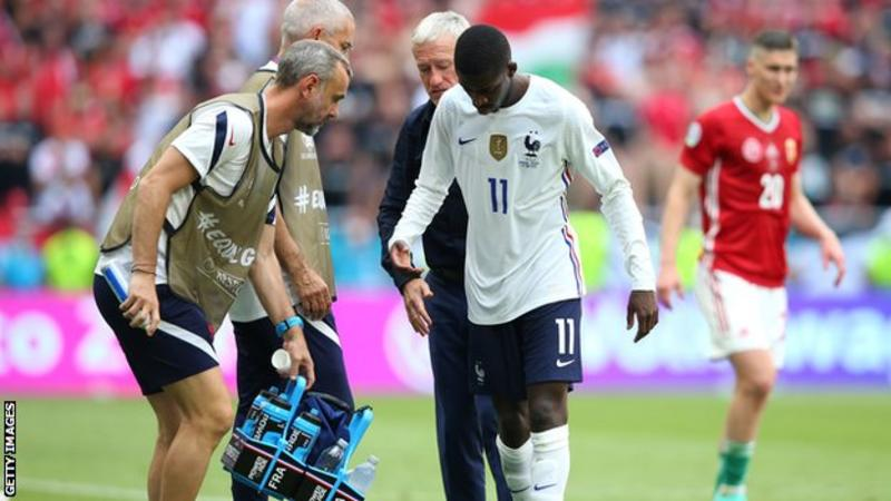 Euro 2020: France Forward Ousmane Dembele Ruled Out Of Tournament By Injury