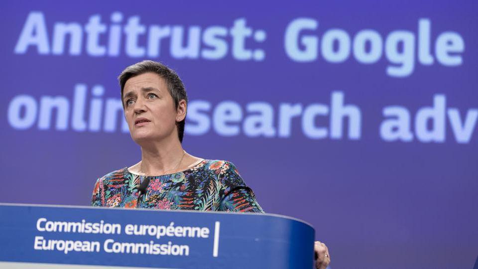 EU Opens Antitrust Probe Into Google's Online Ad Tech Business