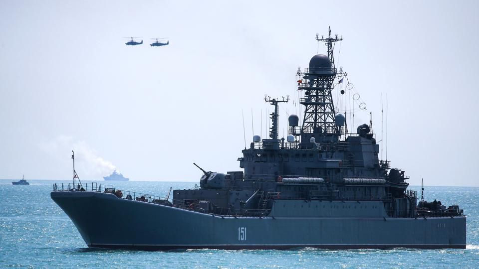 Russia Warns It's Prepared To Fire At Or Bomb NATO Ships Entering Crimean Waters