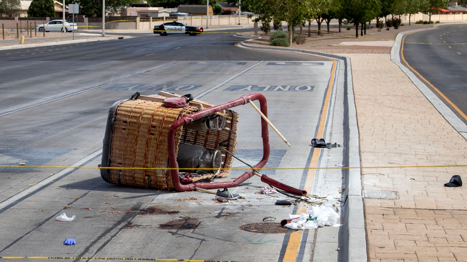 Five Dead After Hot Air Balloon 'Blown Into Power Lines' In Albuquerque, New Mexico