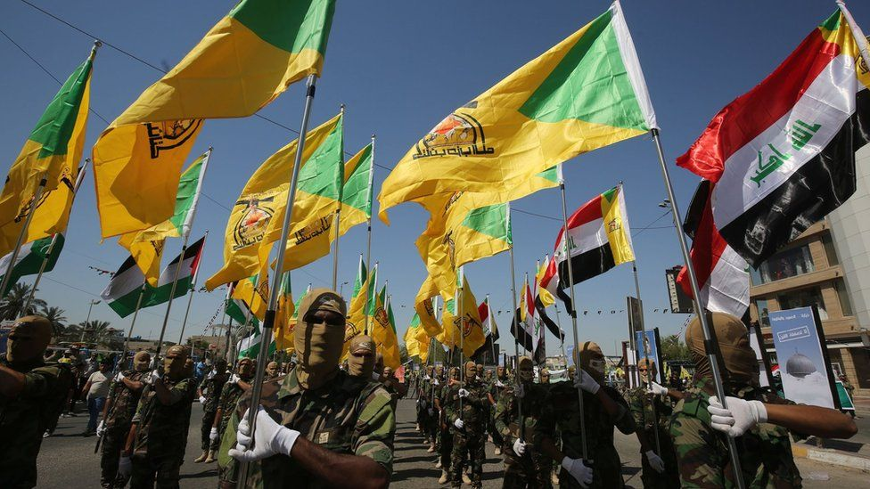 US Air Strikes In Iraq And Syria Target Iran-Backed Militias