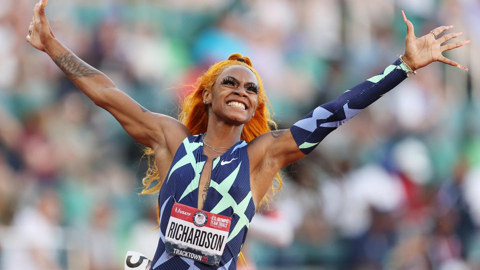 Sprinter Sha'Carri Richardson Reportedly Tests Positive For Marijuana, Set To Miss Olympics