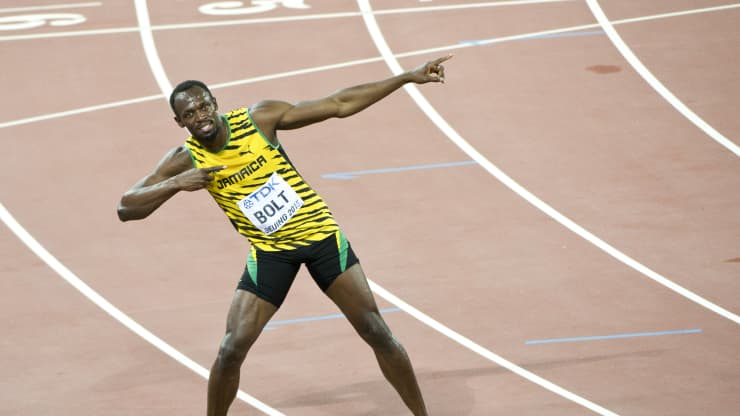 Jamaican sprinter Usain Bolt's Best Money Advice: 'If You Make $10, Save $6'