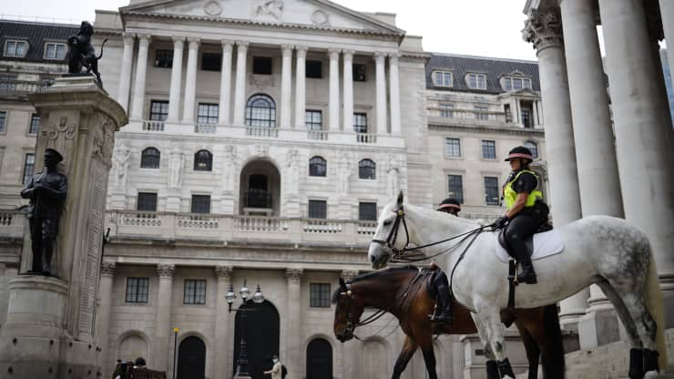 Bank Of England Was Expecting 'Bumps' As Economy Reopens, Official Says As Inflation Surges